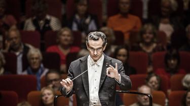 DR SymfoniOrkestrets chefdirigentFabio Luisi.
