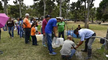 Strømafbrydelser og mangel på vand har de senesteseks dage plaget Venzuela.