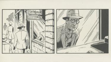 Jason Lutes' grafiske roman på næsten 600 sider, 'Berlin', tegner et rigt, foruroligende portræt af en by og dens beboere i Weimarrepublikkens sidste år