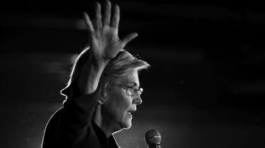 Elizabeth Warrens hovedargument for at ville regulere de store techselskaber hårdt er, at de er blevet en essentiel del af samfundet på linje med el- og vandforsyningen.