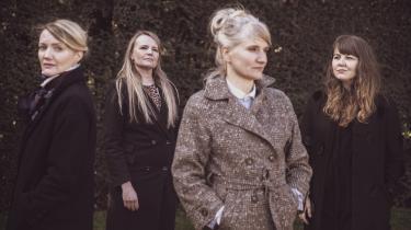 De fire dokumentarister Eva Mulvad (t.v.), Pernille Rose Grønkjær, Phie Ambo og Marie Skovgaard er alle aktuelle på dokumentarfilmfestivalen CPH:DOX.