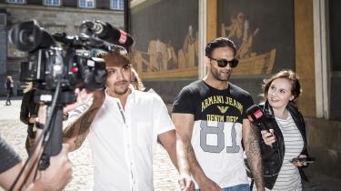 I denne uge blev den kroatiske statsborger Jimmi Levakovic (ses på billedet med solbriller) på trods af 22 domme for kriminalitet ikke udvist af Danmark. Højesteret vurderede i sin begrundelse, at udvisning ville være i strid med Menneskerettighedskonventionen og dermed også EU-retten.