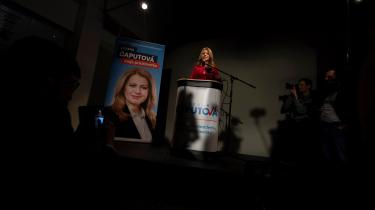 Der er stor sandsynlighed for, atZuzana Caputova, der er næstforkvinde i det socialliberale parti Progresivne Slovensko, bliver Slovakiets første kvindelige præsident efter den næste og afgørende valgrunde i Slovakiet.