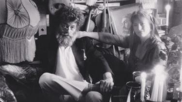 Leif og Ivalo Falk på sølvbryllupsbilledet fra 1987.