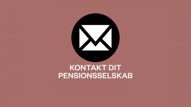 Her kan du sende et brev til dit pensionsselskab, hvis du vil i dialog om den måde, dine pensionspenge er investeret på