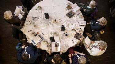 Til bestyrelsesmøde hos MP Pension i weekenden, hvor pensionsmedlemmerne stemte for et stop for lån til fossilselskaber.
