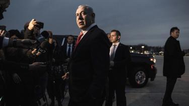 I valgkampens slutfase har Netanyahu bekendt kulør ved overraskende at bebude annektering af 'dele af Vestbredden', hvis han bliver genvalgt.