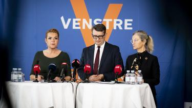 Venstres pressemøde kan bedst opfattes som én lang skræmmekampagne. Vælgerne vil dog ikke komme til at flytte sig meget på baggrund af de fremlagte tal og beregninger på pressemødet, vurderer valgforsker Kasper Møller Hansen.