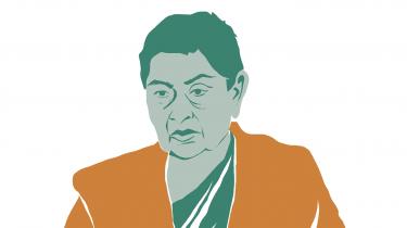 Den indiske filosof Gayatri Chakravorty Spivak har siden 1960'erne kæmpet for at sætte det postkoloniale og de undertryktes vilkår på dagsordenen. Som en del af særmagasinet Videnskapløb tegner Information en række miniportrætter af indiske videnskabsfolk. Spivak er den første i en rækken