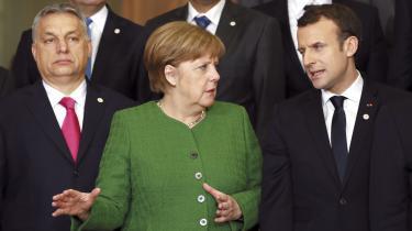 Det er ikke kun typiske fortalere for Europa som Angela Merkel og Emmanuel Macron, der er med til at skabe en europæisk offentlighed. Det er også nationalistiske ledere som Ungarns Viktor Orbán.