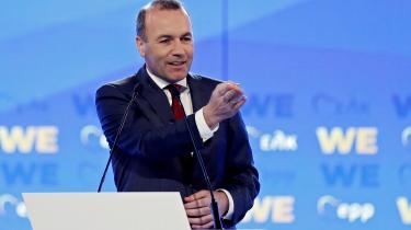 Spitzenkandidat for den store EPP-gruppe i Europa-ParlamentetManfred Weber i denne uge en soleklar melding på det yderst omstridte Nord Stream 2-projekt, der årligt kan lede 55 milliarder kubikmeter gas direkte fra Rusland gennem Østersøen til Tyskland.