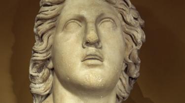 Achilleus bryder ud i heroisk gråd, da han finder ud af, at hans bedste ven er faldet i kamp.