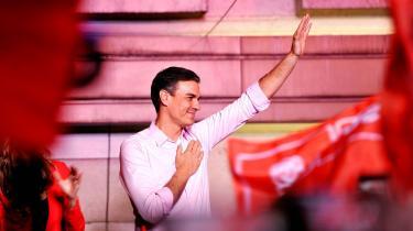 PedrosSánchez stårstyrket og reelt som den eneste mulige kandidat til den spanske premierministerpost.