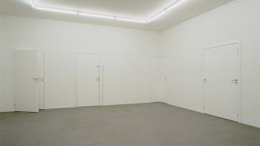 Elmgreen & Dragset 'Powerless Structures (8 doors)' 2000-2002. Statens Museum for Kunst.