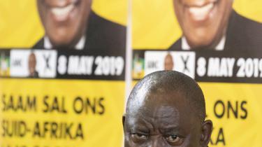 ANC har regeret Sydfrika i 25 år og står også til genvalg onsdag, men er ramt af eksistentielt truende splittelse, 'moralsk krise' og indre korruption – og det skaber nagende usikkerhed om, hvor Afrikas 'regnbuenation' er på vej hen