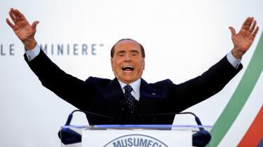 Silvio Berlusconi har allerede opbrugt et utal af politiske liv efter sexskandaler, skattesvigsdom og en hjerteoperation, men »politikkens Jesus Kristus,« som han har kaldt sig selv, er ikke færdig. Nu vil han genopstå – igen – som EU-parlamentariker.
