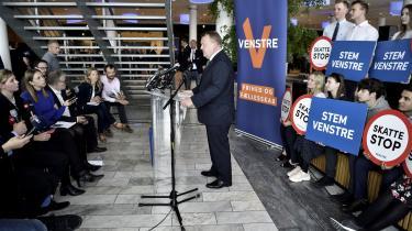 På partiets kandidatsamling søndag i Bella Center sagde Løkke, at Venstre i 2015 »overtog en økonomi fra Socialdemokratiet, hvor budgetterne var kørt helt ud til kanten«og på grænsen af, hvad man kan tillade sigi forhold til EU's budgetlov. Det udsagn kritiserer flere økonomer nu.