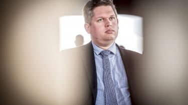 Stram Kurs'partileder, Rasmus Paludan.