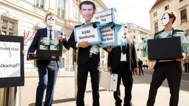 Den afslørende videooptagelse af vicekansler Strache har fået politiske demonstranter på gaden i Wien.