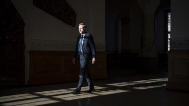 Formand forDansk Folkeparti, Kristian Thulesen Dahl.