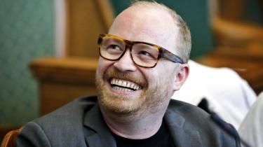 Alternativets Rasmus Nordquist elsker mad, og mener at klimakampen foregår på tallerkenen.