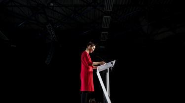 »Der er et stort flertal i Europa, som ikke vil affinde sig med hverken racisme eller en illiberal undergravning af retsstaten – og der er et stort flertal af europæere, som faktisk ønsker at gøre noget ved klimakrisen,« siger Ska Keller, den grønne gruppe kandidat til posten som kommissionsformand.