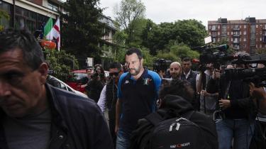 Matteo Salvini og Lega sejrede stort ved valget til Europa-Parlamentet i Italien. Lega fik 34,3 procent af de italienske stemmer – dobbelt så mange som ved det italienske parlamentsvalg for et år siden og intet mindre end seks gange flere end ved europaparlamentsvalget i 2014.