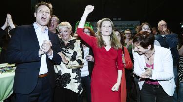 Med hele 20,5 procent af de tyske stemmer står De Grønne i Tyskland for halvdelen af den samlede grønne fremgang i Europa-Parlamentet. En fremgang, der primært er skabt i de tyske storbyer.