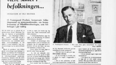 Foto fra Information 31. maj 1969