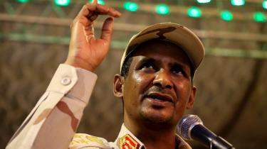 Hemedtis stigning i graderne har været tæt knyttet til den igangværende konflikt i hans oprindelige hjemregion Darfur.