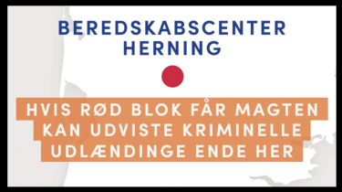 Med et annoncetrick placerede Venstre et udrejsecenter for udviste kriminelle udlændinge 19 forskellige steder i landet. Sådan ville det se ud, »hvis rød blok får magten«, lød det. »Skræmmekampagne i den grovere ende af skalaen,« siger digital rådgiver Astrid Haug. Venstre afviser kritikken