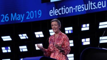 Hvis de europæiske befolkninger skal have tillid til processen bag udnævnelsen til unionens topposter, skal deg være synligt, hvad der foregår. Det er ikke nok at kunne heppe på kandidaterne, som her danske Margrethe Vestager.