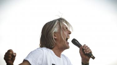 Peter A.G. fra Gnags på Blue Stage fredag.