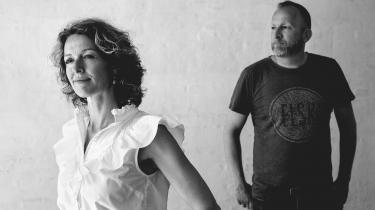 Instruktør Frederikke Aspöck og manuskriptforfatter Lars Husum er filmaktuelle med 'De Frivillige'.