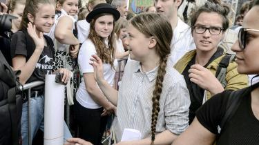 Greta Thunberg til klimamarch i Wien 31. maj 2019.