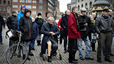 Godhavnsdrengene har måttet vente i årevis på en officiel undskyldning. Nu tyder det på, at Mette Frederiksen er parat til at give dem den, hvis hun bliver statsminister. Her deltagere i en demonstration for netop en undskyldning afholdt i marts 2015.
