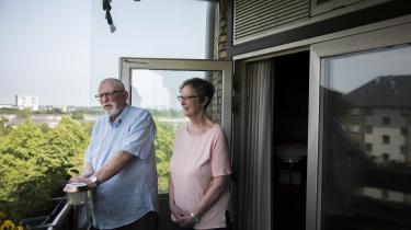 Ægteparret Jane og Mogens Blomsterberg fra Kobbelvænget 63 bruger ikke selv deres eget pulterrum særligt ofte, men det er utrygt for dem, at der ikke er blevet gjort tilstrækkeligt rent efter et bygningsarbejde for syv år siden.