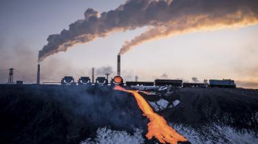 En russisk kobberfabrik i Norilsk 8. november 2017. Russerne har stadig en meget begrænset forståelse af klimaforandringernes alvor, men forståelsen er stigende – særligt blandt de unge.
