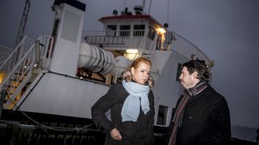 I det store hele lægger S, SF, Ø og R op til at videreføre Inger Støjbergs (V) udlændingepolitik. Dog droppes planerne om at sende afviste kriminelle asylsøgere til øen Lindholm. Her den afgående integrationsminister efter et besøg på netop Lindholm.