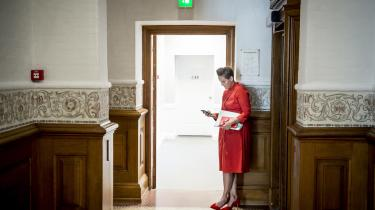 SF-formand Pia Olsen Dyhr siger nu – modsat tidligere meldinger fra partiet – at planerne om øget klimabistand ikke skal finansieres af ulandshjælpen, hvis det står til hende.