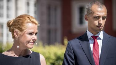 Inger Støjberg (V), der overdrog Udlændinge- og Integrationsministeriet til Mattias Tesfaye (S) den 27. juni, opfordrer nu sin efterfølger til at bruge sin sommer på at få dæmmet op for den skade, som EU-dommen måtte medføre.