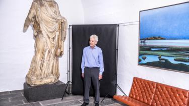 »Hvis nogen skriver, at de gerne vil have penge til den og den skulptur, så siger vi nej. Altid. For de har jo et projekt, de vil bare have nogle penge. Det kan de gå alle mulige andre steder hen og få. Vi vil som faglig fond være en del af en proces,« siger Morten Kyndrup, fungerende formand for Ny Carlsbergfondet.