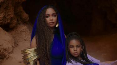 Beyoncé har inviteret sin datter, Blue Ivy Carter, med på sit nye Løvernes Konge-album.