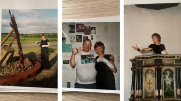 Katrine Hornstrup Yde tog et par år efter gymnasiet tilbage på ferie til sin hjemegn, hvor hun besøgte Jens Vejmands grav, krammede bestyreren af autografmuseet og trådte op på præstestolen i kirken, hvor hun blev døbt.