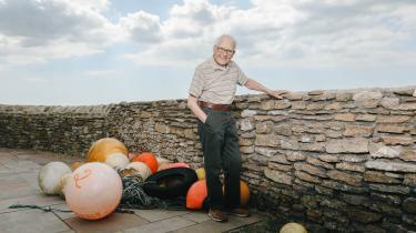 James Lovelock, manden bag Gaia-teorien, fyldte 100 år i juli. Her er han fotograferet nær sit hjem i Dorset kort før fødselsdagen.