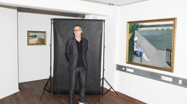 Michael Bjørn Nellemann, direktør i Det Obelske Familiefond, mener ikke, at fondet har et specifikt kunstsyn