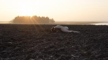 Foto fra udstillingen 'Landskabninger' på SMK Thy.