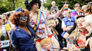 Pride Week er ikke kun festuge for LGBT-personer. Det er ogsåfestuge for folk, der gør sig lystige over, at de ikke kan huske en forkortelse bestående af fire konsonanter. Lad os kalde det Personer med Påfaldende Specifikke Bogstavsudfordringer (PPSB-personer i daglig tale).