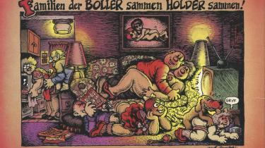 Tegneserien er fra Underground nr. 10. »Den afskyelige snekvinde« af Robert Crumb.