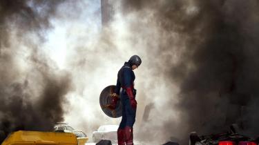 Captain America kæmpede imod virkelige nazi-superskurke i 1941. Og hans kamp fortsætter ... her i 'The Avengers' (2012).